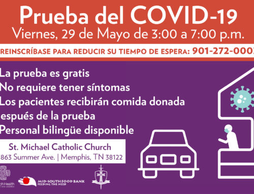 Free Bilingual COVID-19 Testing by Church Health & St. Michael's Catholic Church May 29