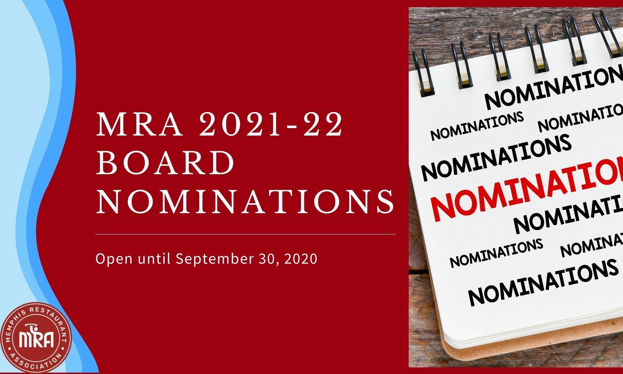 MRA Nominations Image